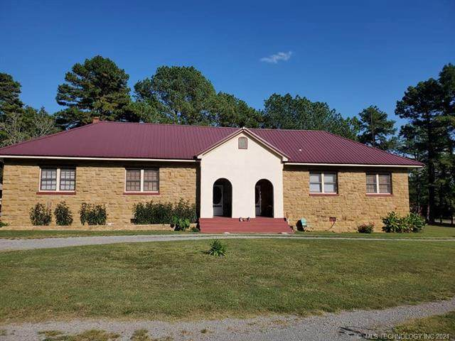 4717 123rd, Wilburton, OK 74578 (MLS #2133589) :: Hopper Group at RE/MAX Results