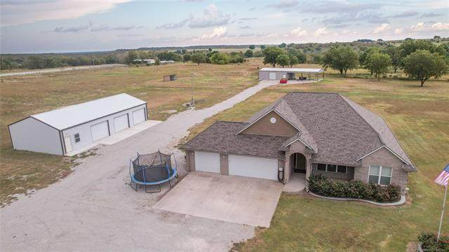 8343 State Highway 77S, Marietta, OK 73448 (MLS #2133591) :: Hopper Group at RE/MAX Results