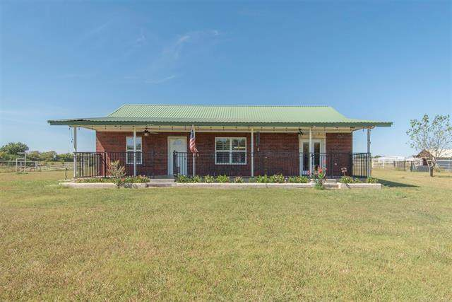 12300 Us Highway 77, Marietta, OK 73448 (MLS #2133609) :: Hopper Group at RE/MAX Results