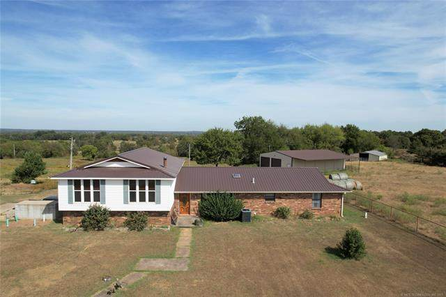24214 Latham Road, Shady Point, OK 74956 (MLS #2134202) :: Hopper Group at RE/MAX Results