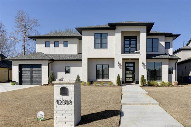 12008 S Kingston Place, Tulsa, OK 74137 (MLS #2135219) :: Hopper Group at RE/MAX Results