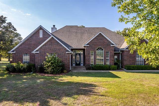 15610 Cherokee Boulevard, Skiatook, OK 74070 (MLS #2135276) :: Active Real Estate