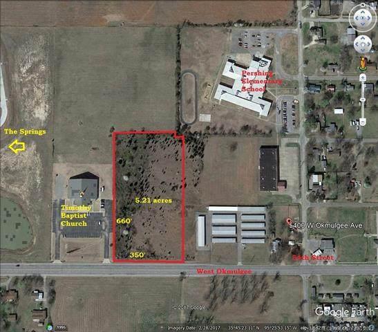 W Okmulgee Street, Muskogee, OK 74401 (#2135377) :: Homes By Lainie Real Estate Group