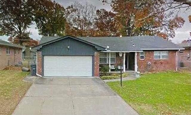 413 S 117th East Avenue, Tulsa, OK 74128 (MLS #2135410) :: 918HomeTeam - KW Realty Preferred