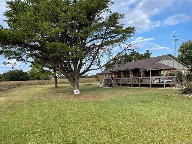 24032 Tiny Chapel Road, Madill, OK 73446 (MLS #2135580) :: Active Real Estate
