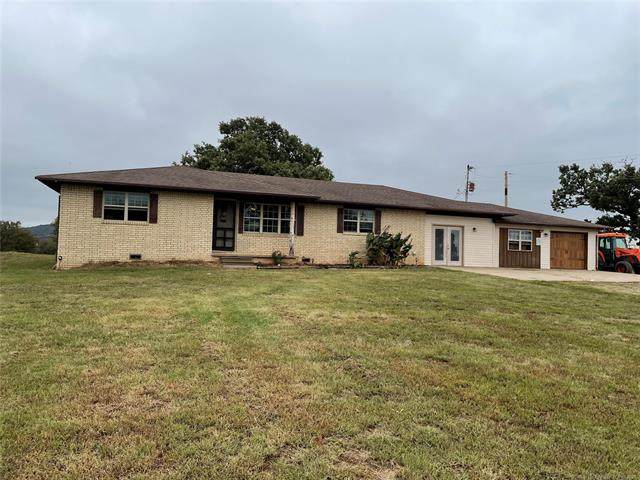 30278 S State Hwy 71, Quinton, OK 74561 (MLS #2135668) :: Hopper Group at RE/MAX Results