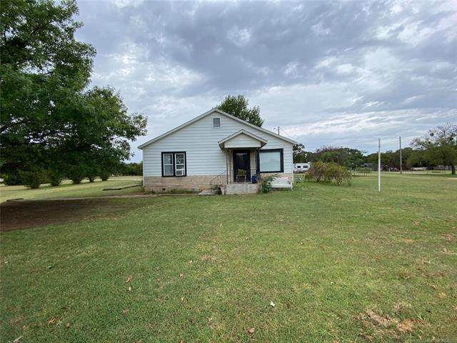 120 Quail Drive, Healdton, OK 73438 (MLS #2135868) :: Active Real Estate