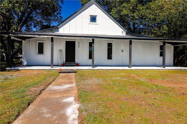 408 W Hickory Avenue, Fort Gibson, OK 74434 (MLS #2136143) :: Hopper Group at RE/MAX Results