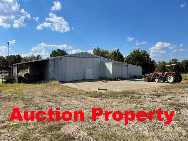 121386 State Hwy 9, Eufaula, OK 74432 (MLS #2136330) :: Active Real Estate