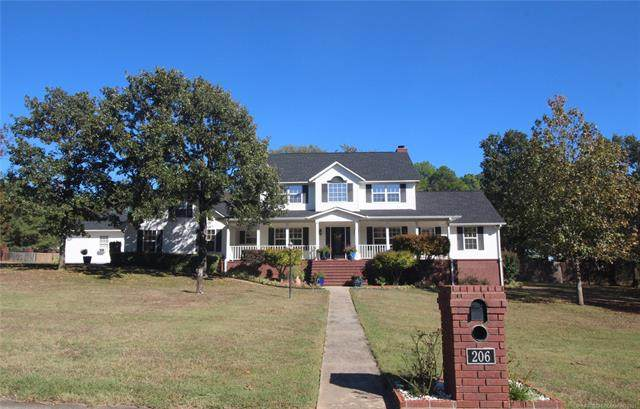 206 Forest Ridge Road, Poteau, OK 74953 (MLS #2136438) :: Maven Real Estate