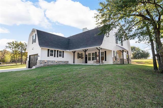 35894 Stone Creek Drive, Mannford, OK 74044 (MLS #2136486) :: Hopper Group at RE/MAX Results
