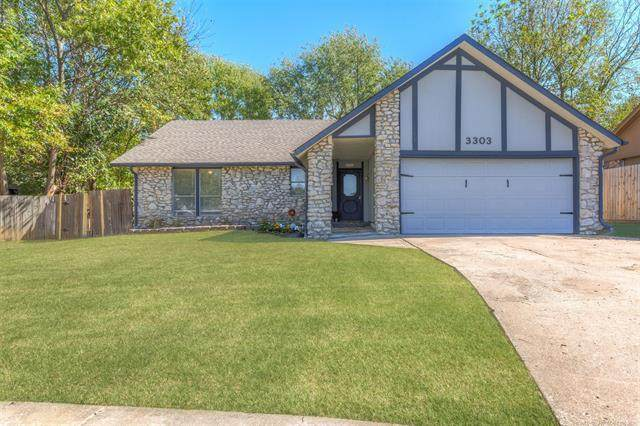 3303 S 140th East Avenue, Tulsa, OK 74134 (MLS #2136596) :: Hopper Group at RE/MAX Results