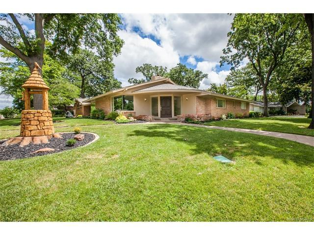 5827 S Florence Avenue, Tulsa, OK 74105 (MLS #1724451) :: The Boone Hupp Group at Keller Williams Realty Preferred