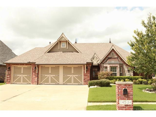 14534 S Florence Avenue, Bixby, OK 74008 (MLS #1732167) :: The Boone Hupp Group at Keller Williams Realty Preferred