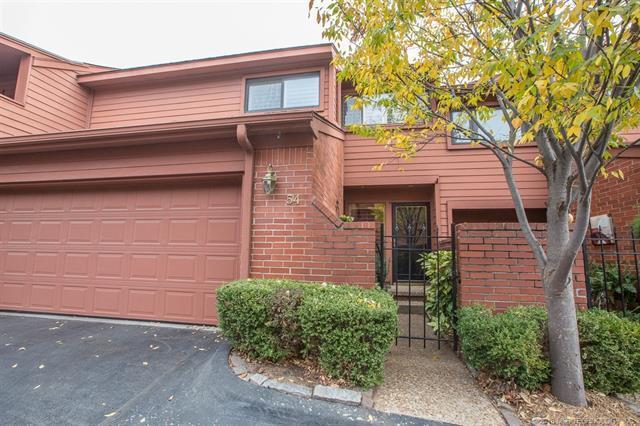 54 Woodward Boulevard #54, Tulsa, OK 74114 (MLS #1743329) :: The Boone Hupp Group at Keller Williams Realty Preferred