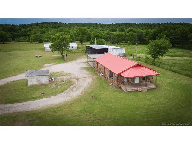 Box 129 Nowata Hc 62 Road, Nowata, OK 74048 (MLS #1747270) :: The Boone Hupp Group at Keller Williams Realty Preferred