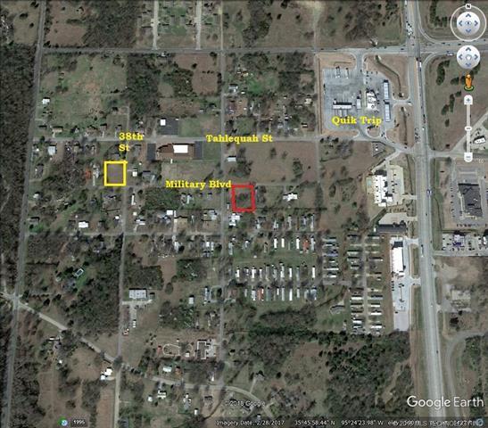 TBD Military Boulevard, Muskogee, OK 74401 (MLS #1804083) :: Brian Frere Home Team