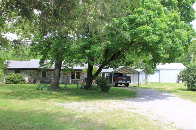 51501 S 590 Road, Colcord, OK 74338 (MLS #1818259) :: Hopper Group at RE/MAX Results