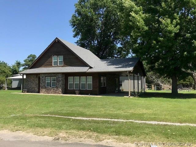 87 E 2nd Street, Eufaula, OK 74432 (MLS #1823183) :: Hopper Group at RE/MAX Results