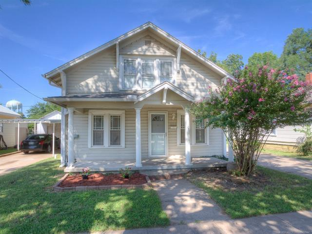 612 S Main Street, Bristow, OK 74010 (MLS #1832809) :: Hopper Group at RE/MAX Results