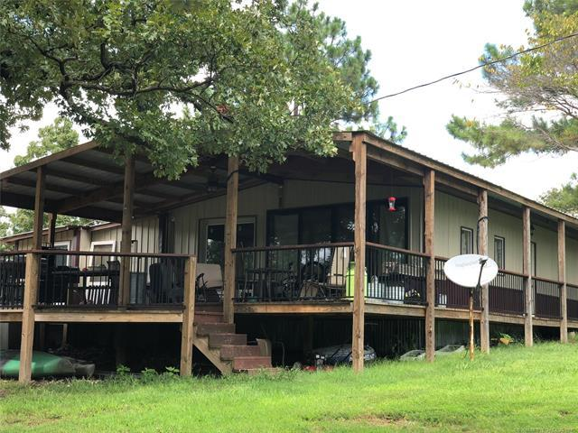 103061 N County Road 3760, Okemah, OK 74859 (MLS #1833513) :: Hopper Group at RE/MAX Results