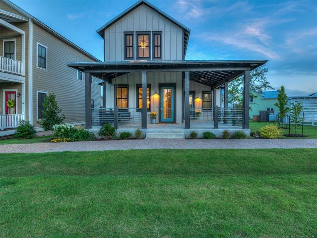 86 Lower Greenway Avenue, Carlton Landing, OK 74432 (MLS #1921952) :: Hopper Group at RE/MAX Results