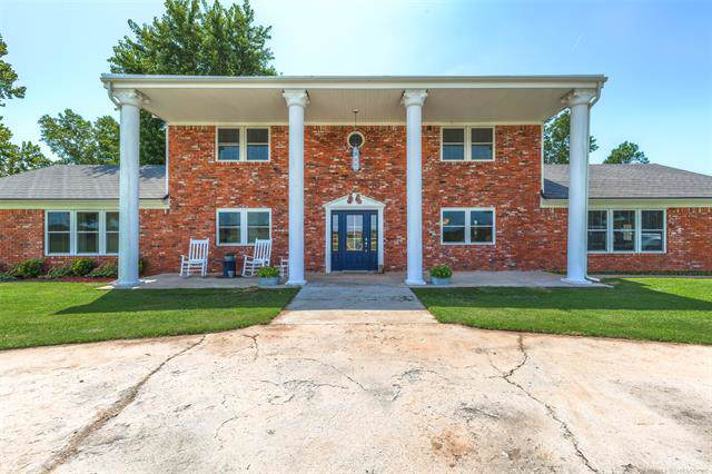 29717 E 56th Street, Yale, OK 74085 (MLS #1932563) :: Hopper Group at RE/MAX Results