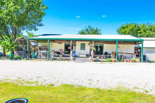 420051 E 1147 Road, Checotah, OK 74426 (MLS #2006301) :: Hopper Group at RE/MAX Results