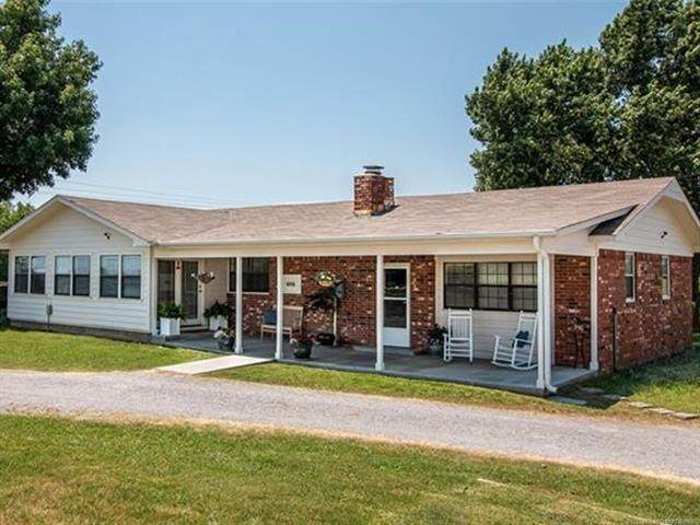 606 E Main Street, Adair, OK 74330 (MLS #2021525) :: Active Real Estate