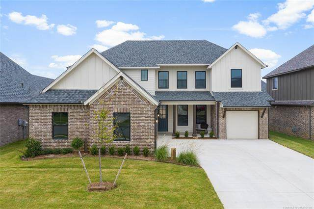 12920 S 5th Place, Jenks, OK 74037 (MLS #2022415) :: Hometown Home & Ranch