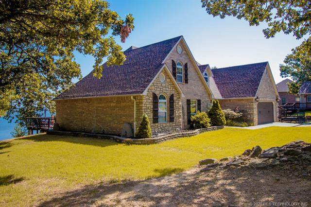 1703 Rose Lane, Eufaula, OK 74432 (MLS #2028974) :: Hopper Group at RE/MAX Results