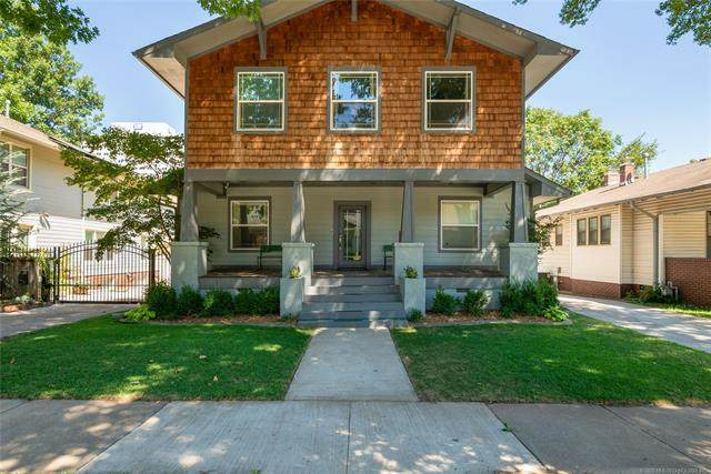 1519 S Carson Avenue, Tulsa, OK 74119 (MLS #2030262) :: Active Real Estate