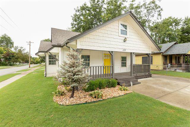 104 N Delaware Avenue, Tulsa, OK 74110 (MLS #2030657) :: Hopper Group at RE/MAX Results