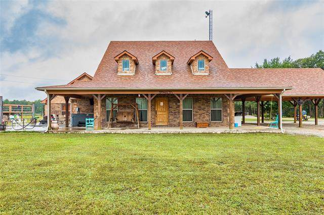 6656 W Perch, Atoka, OK 74525 (MLS #2033577) :: Active Real Estate