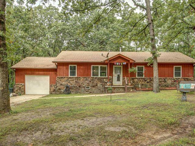 14523 W 806 Road, Tahlequah, OK 74464 (MLS #2034863) :: Active Real Estate