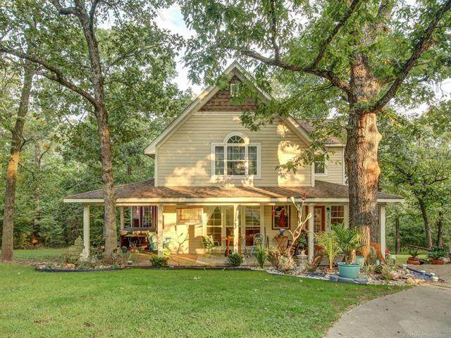 2201 Woodland Lane, Tahlequah, OK 74464 (MLS #2036468) :: Hometown Home & Ranch