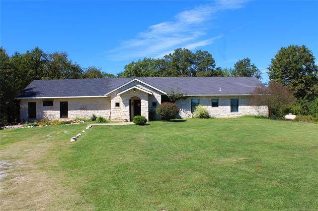 395 S Bob White Lane, Atoka, OK 74525 (MLS #2036626) :: House Properties