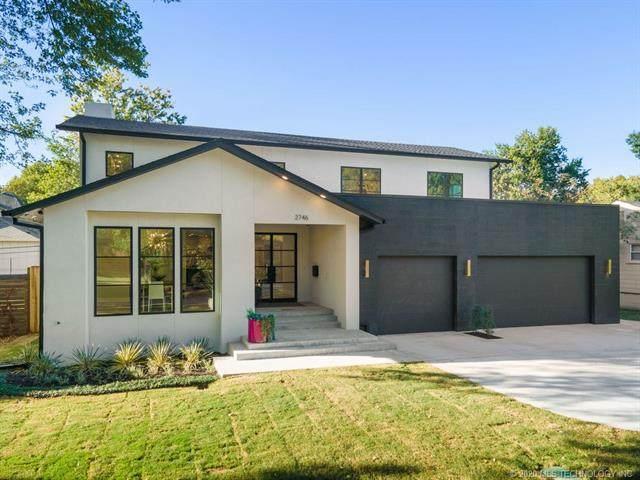2746 S Gary Drive, Tulsa, OK 74114 (MLS #2037635) :: 580 Realty