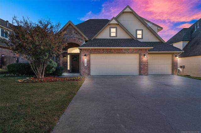 11205 S 73rd East Avenue, Bixby, OK 74008 (MLS #2039668) :: Active Real Estate