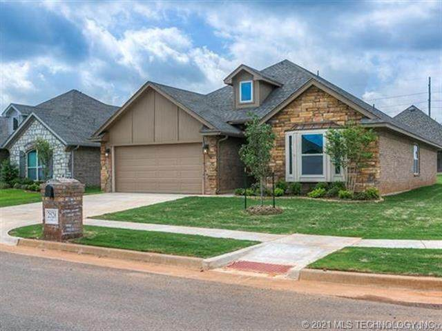 14656 S Lakewood Place, Bixby, OK 74008 (MLS #2100284) :: 580 Realty