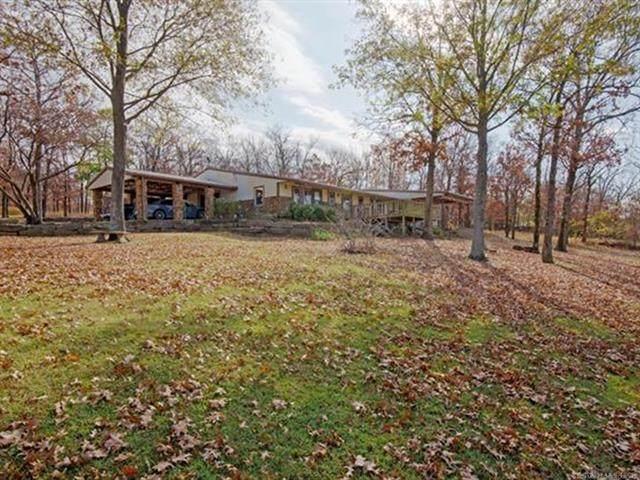 16293 W Hickory Hills Drive, Hulbert, OK 74441 (MLS #2101199) :: 918HomeTeam - KW Realty Preferred