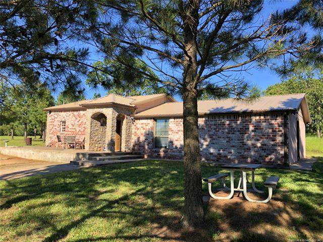 41030 W 151st Street S, Bristow, OK 74010 (MLS #2101485) :: Hopper Group at RE/MAX Results