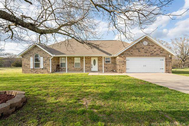 473299 E 660 Road, Watts, OK 74964 (MLS #2104365) :: Hopper Group at RE/MAX Results