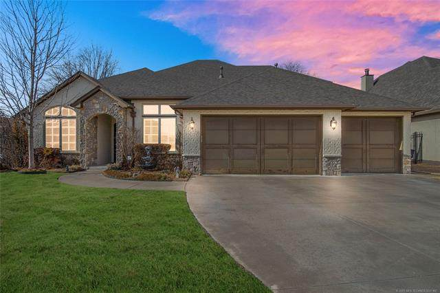 10016 S 107th East Avenue, Tulsa, OK 74133 (MLS #2106017) :: 918HomeTeam - KW Realty Preferred