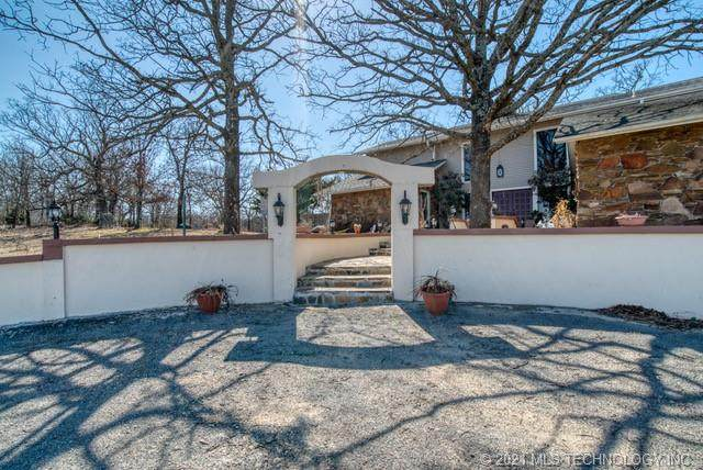 3033 S Peaceable Road, Mcalester, OK 74501 (MLS #2106103) :: Active Real Estate