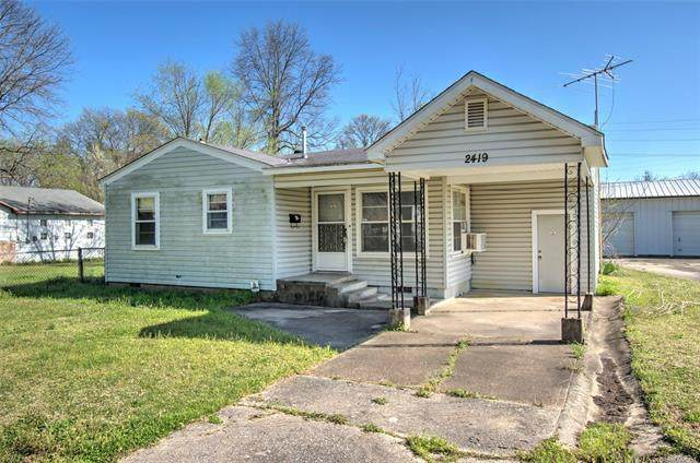 2419 Pine Avenue, Muskogee, OK 74401 (MLS #2107698) :: Hopper Group at RE/MAX Results