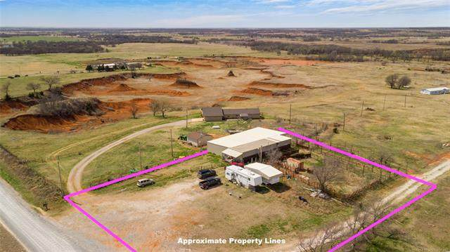 18971 Crawford Road, Purcell, OK 73080 (MLS #2108023) :: RE/MAX T-town
