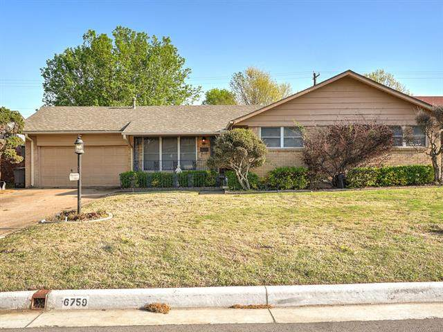 6759 E 26th Court, Tulsa, OK 74129 (MLS #2108050) :: Active Real Estate
