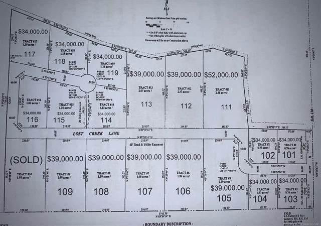 109 Lost Creek Lane, Davis, OK 73030 (MLS #2108564) :: Active Real Estate