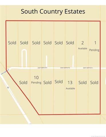 E 128th Street S, Muskogee, OK 74403 (MLS #2109990) :: Owasso Homes and Lifestyle